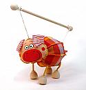 Cerdito marioneta titere