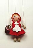 Caperucita Roja marioneta titere