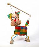 Perro marioneta titere