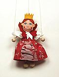 Reina marioneta titere