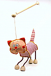 Gato marioneta titere