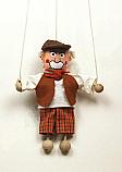 Abuelo marioneta titere