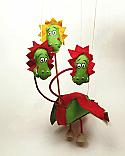 Dragón marioneta titere