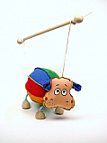 Hipopotamo marioneta titere