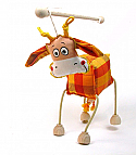 Vaca marioneta titere